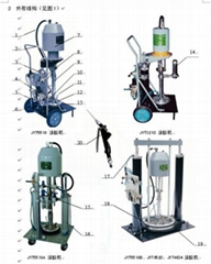 High viscosity/high delivery grease pump