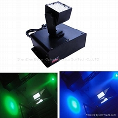 China dj light factory led mini square moving head light dmx moving wash light