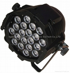20X12W  tri led 5 in one lights rgbwa quad LED par 64 Cheap China par led light
