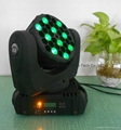 36X3W rgbw led beam moving head wash