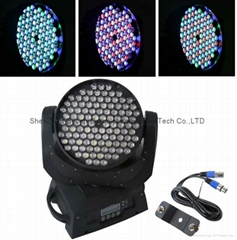 108 3w led moving head wash light RGBW dmx dj stage light fast shipping