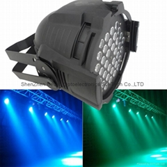 36X3W RGB LED PAR 64 54W DMX PAR CAN light high power led par stage lighting