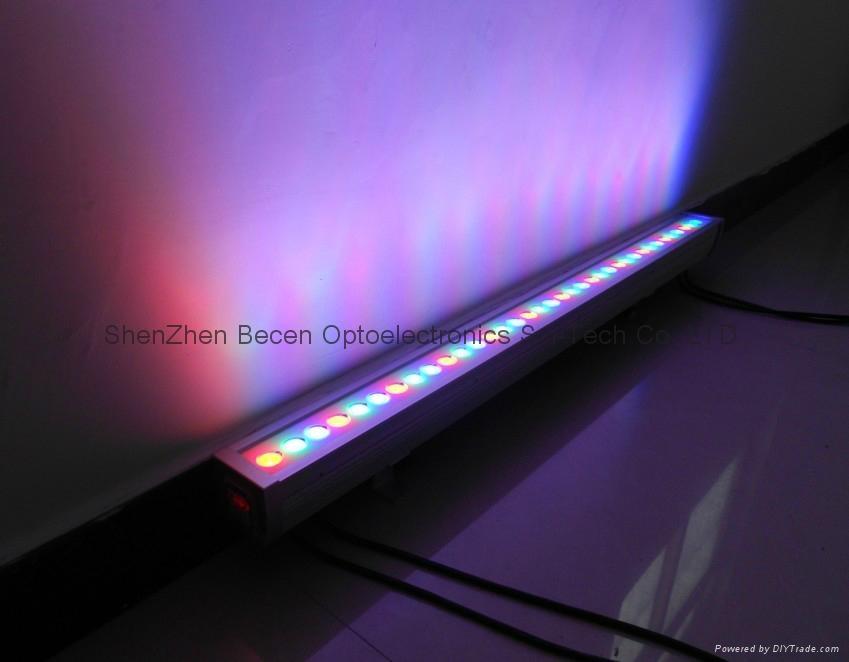 Led Wall Wash Lights Usa : 36W led outdoor wall wash light 36x1W waterproof LED BAR lighting IP65 - BC-224 - BECEN (China ...