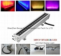 18x3in1 outdoor led wall washer bar light ip65