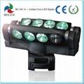 led spider light 8x10w RBGW pro led