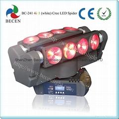 led spider light 8x10w RBGW pro led moving head beam light