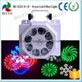 8 gobo led effect light 8x3W Cree LED