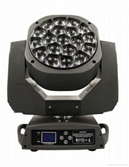 19x15w 4in1 bee eye led moving head light