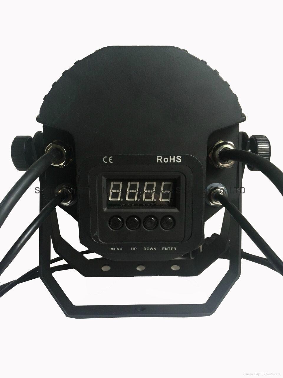 12X18w rgbwa-uv 6in1 waterproof led par light IP65 4