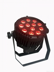 12X18w rgbwa-uv 6in1 waterproof led par light IP65