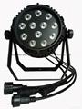 12X18w rgbwa-uv 6in1 waterproof led par light IP65 3