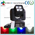 4x12W  Osram LED zoom moving head light
