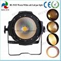 100W COB LED PAR 64 Stage light warm white