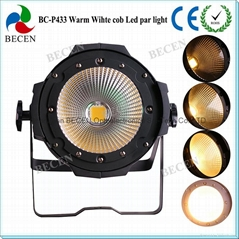 100W COB LED PAR 64 Stage light warm white