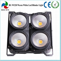 400W LED Blinder background light  4*100W Warm White COB Led Light