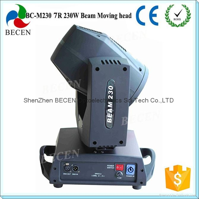 230W 7R Sharp beam moving head light 3