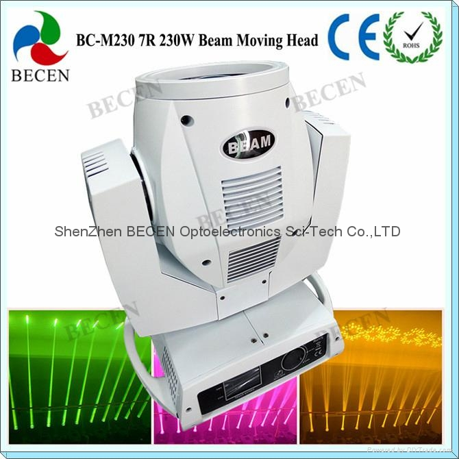 230W 7R Sharp beam moving head light 1