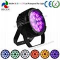 18x18w ip65 waterproof led par can light