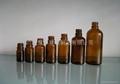 茶色棕色玻璃精油瓶5-100ml