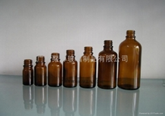 Brown Glass Essensial Oil Bottle 5-100ml