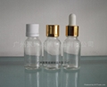 Clear Glass Essential Oil Bottle 2-500ml