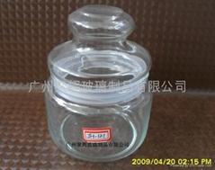 透明玻璃密封罐