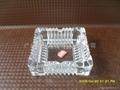 透明玻璃烟灰缸方形