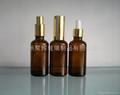 茶色棕色玻璃精油瓶5-100ml   3