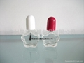 Clear Glass Nail Polish Bottle 5ml 4