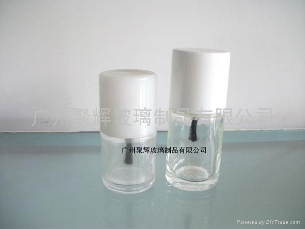 Clear Glass Nail Polish Bottle 5ml 5