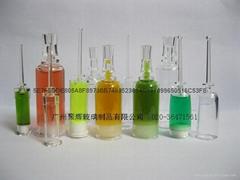 高檔塑料精華液瓶