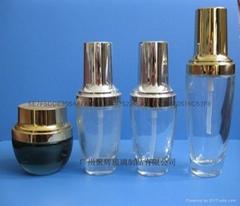 玻璃化妝品套裝瓶