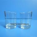 新款斜口玻璃小酒杯