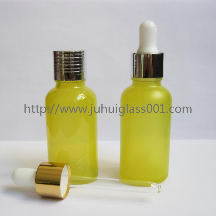 30ml Round Essential Oil Glass Bottle with Dropper 1