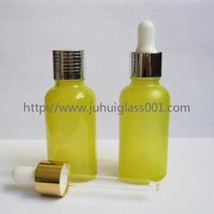 30ml彩色精油瓶精華液瓶配套滴管蓋