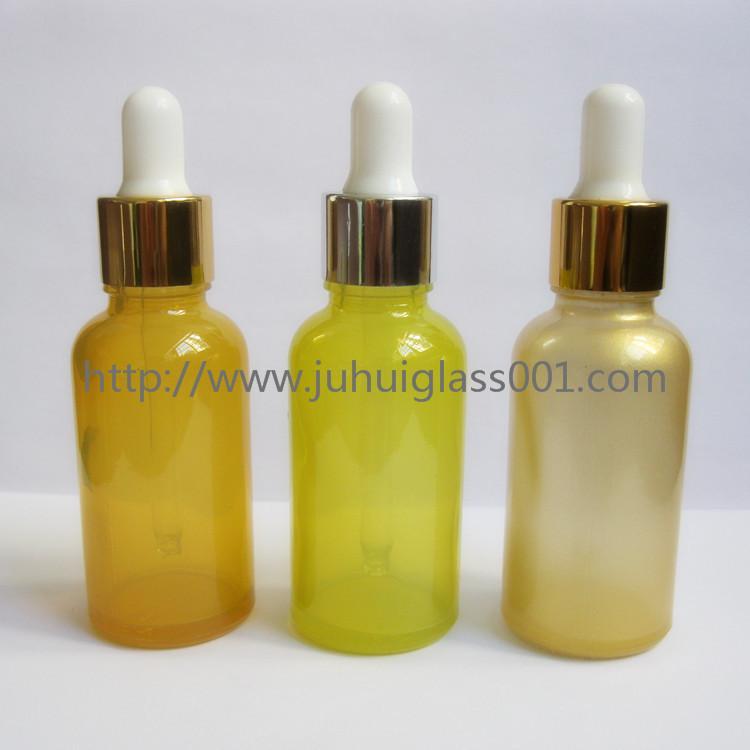 30ml彩色精油瓶精华液瓶配套滴管盖 3