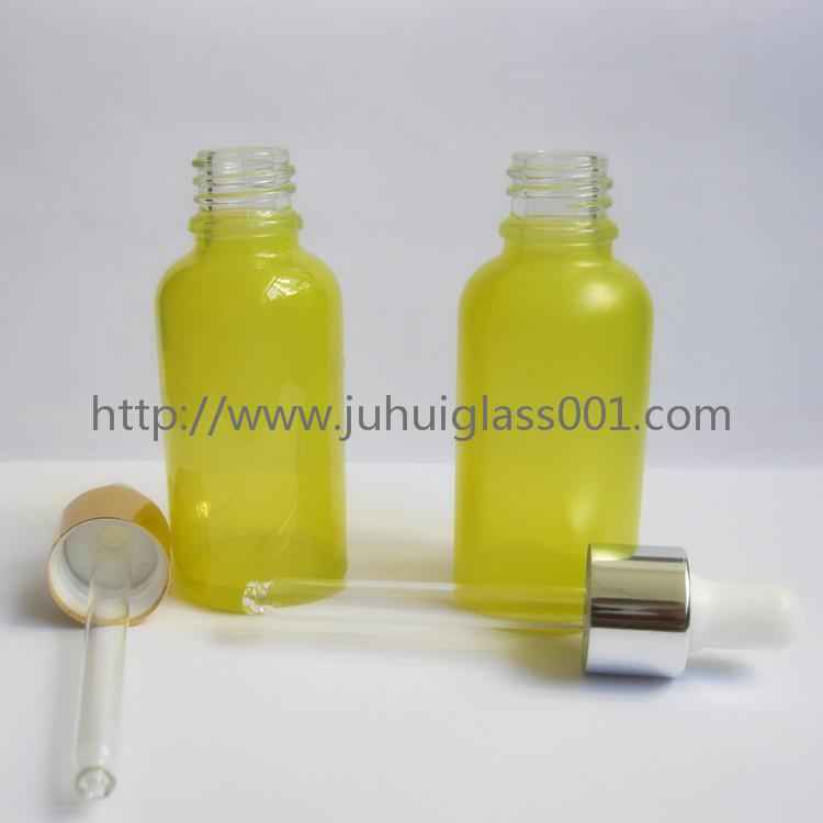 30ml Round Essential Oil Glass Bottle with Dropper 4