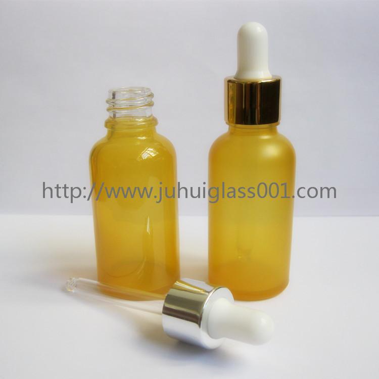 30ml彩色精油瓶精华液瓶配套滴管盖 5