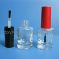 8ml圆柱形指甲油瓶 黑色甲油胶瓶