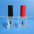 10ML Square Glass Nail Polish Bottle 3