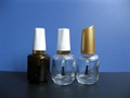 15ml透明茶色玻璃指甲油瓶 3