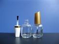 15ml透明茶色玻璃指甲油瓶 4