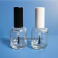 15ml透明茶色玻璃指甲油瓶