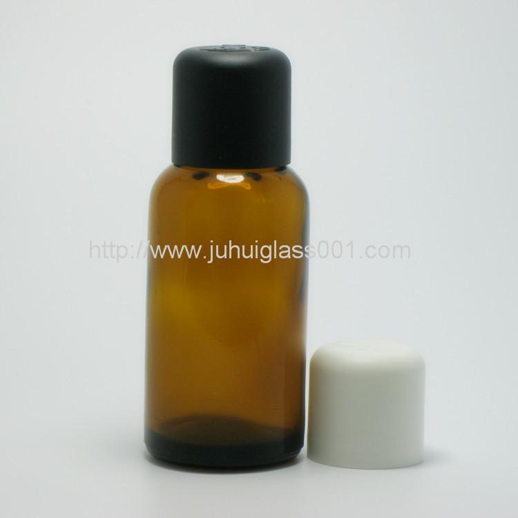 30ml圆形茶色玻璃精油瓶玻璃樽 6