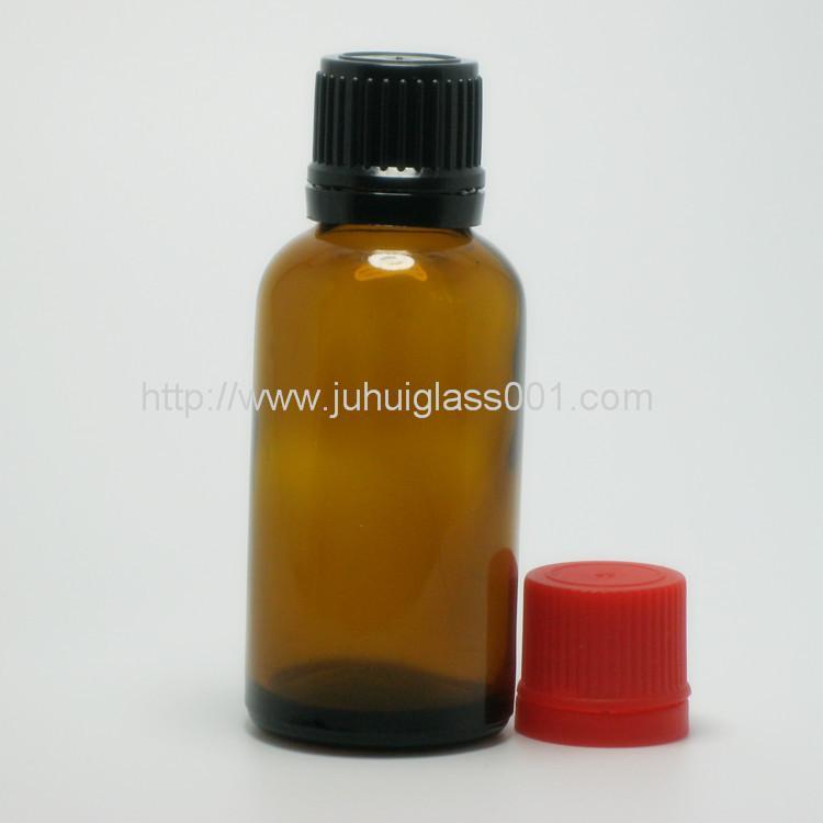 30ml圆形茶色玻璃精油瓶玻璃樽 7