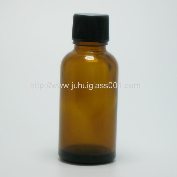 30ml圆形茶色玻璃精油瓶玻璃樽 8