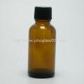 30ml圆形茶色玻璃精油瓶玻璃樽