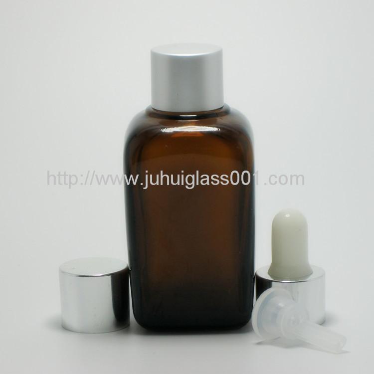 50ml 方形玻璃樽玻璃精油瓶喷雾瓶 3