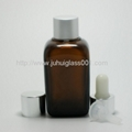 50ML Square Essential Oil Glass Bottle with Sprayer 3