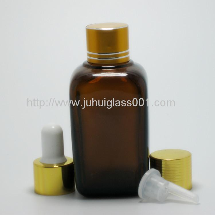 50ML Square Essential Oil Glass Bottle with Sprayer 4